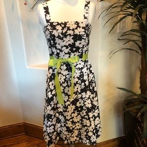 Madison Leigh size 8 black and white dress